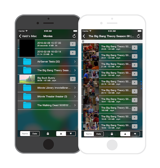 Air Media Center for iOS